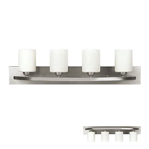 bathroom vanity light bar brushed nickel 4 globe vanity bath light bar interior