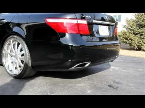 my lexus ls460 with joe z series pts exhaust and 22