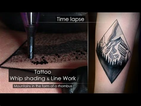 tattoo shading process tattoo techniques line work whip shading close up