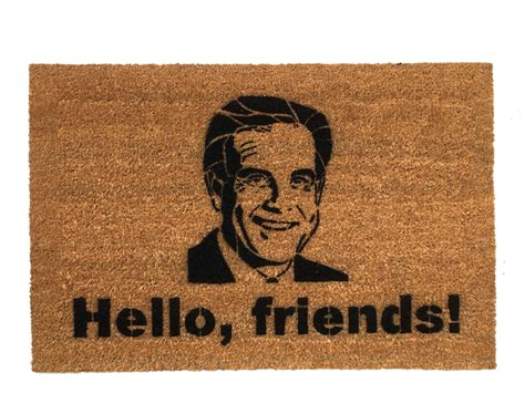 Sports Doormats - hello friends jim nantz sports fan doormat