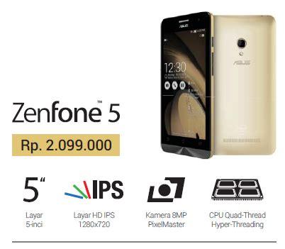 Hp Asus Zenfone Go 4 5 hp murah keren asus zenfone 5