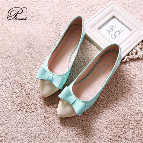 flat shoes with bows bow pointed toe flat shoes fashion ballet flats