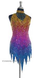 tina turner replica sparkling dance costume tt10001