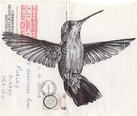 tattoo with bic pen intricate bird illustrations made with a bic biro bird