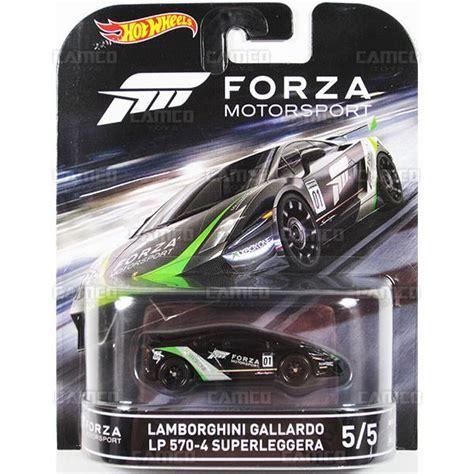 lamborghini gallardo lp 570 4 wheels retro entertainment forza motorsport camco toys