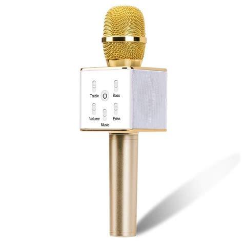Mic Karaoke Bluetooth Mic Karcis mini bluetooth handheld microphone wireless karaoke laptop microphone mic speaker for home ktv