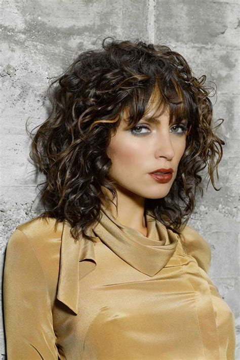 curly hairstyles   youthful  flattering