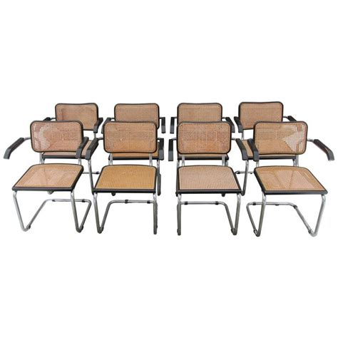 replica armchairs eight marcel breuer cesca italian replica dining armchairs