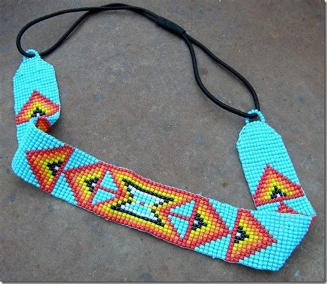10 images about beaded hat bands on loom