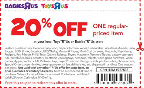 babies r us online coupon code 2018