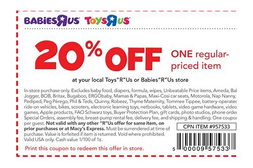 babies r us coupons 20 off march 2018