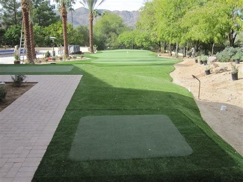 backyard golf hole how to install a putting green in your backyard from