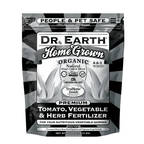 dr earth 4 lb black label home grown tomato vegetable