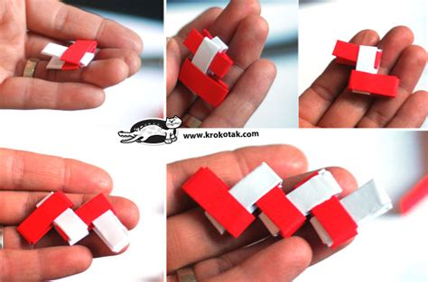 How To Make Bracelets Out Of Paper - paper bracelet www buildmyart