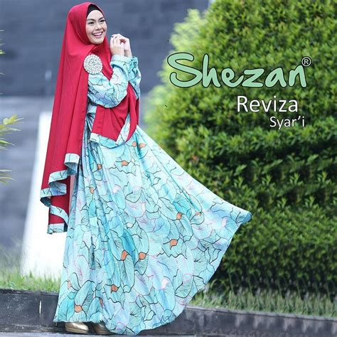 Gamis Shezan Syari by Supplier Baju Muslim Terbaru