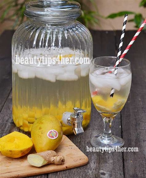 Mango And Lemon Detox Water by Detox Water 50pounds In 3 Months Trusper