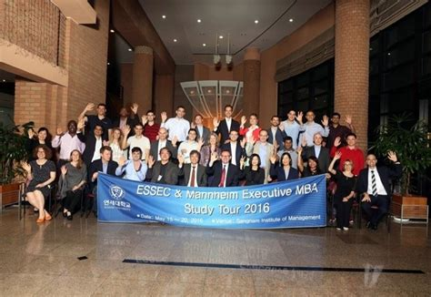 Mba Residency by Essec Mannheim Executive Mba Residency At Yonsei