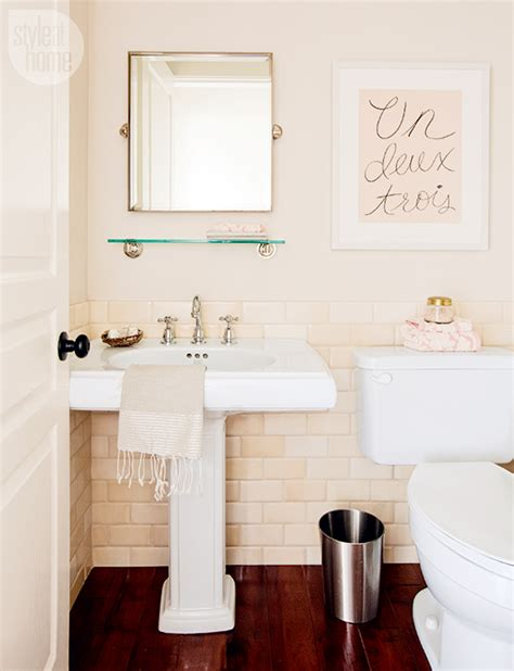 pretty home decor bathroom decor pretty powder room style at home