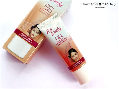 Foundation Fair And Lovely Fair Lovely Bb Review Swatches Price