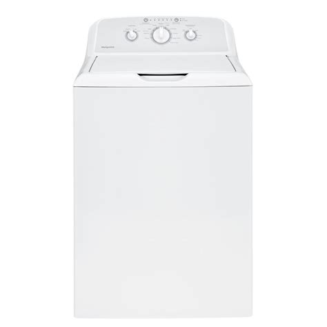 washing machine home depot hotpoint 3 8 doe cu ft top load washer in white htw240askws the home depot