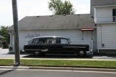 hearses on cadillac and funeral