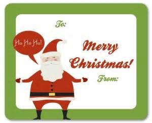 printable santa gift tags template