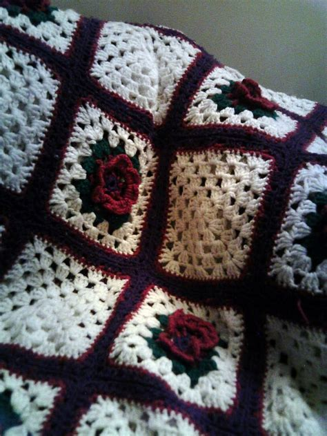motif afghan pattern 183 best crochet flower afghans images on pinterest