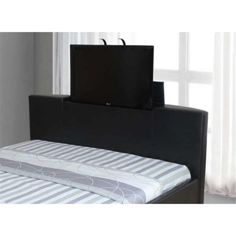super king size bed frame galactic pu leather tv bed frame super king size 6