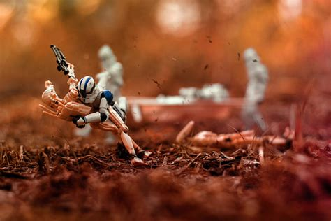figure photography photographing wars figures in fstoppers