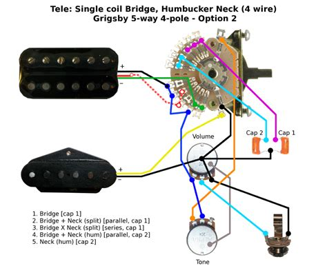 wiring diagram telecaster neck humbucker image collections