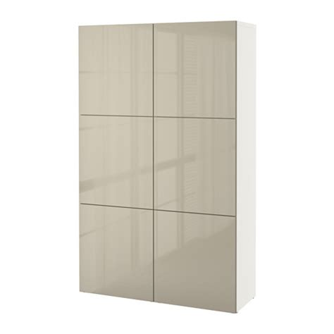 besta beige best 197 storage combination with doors white selsviken