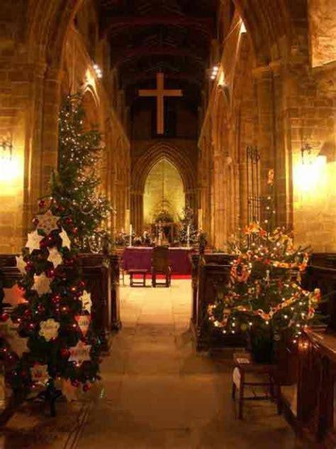 village church at christmas christmas pinterest