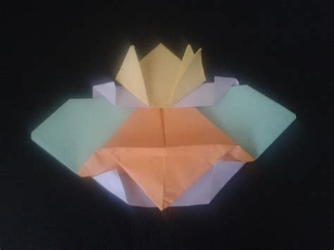 Space Origami - origami space craft parenting times