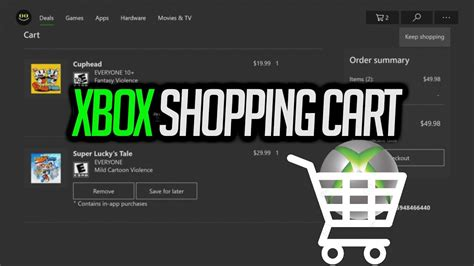 microsoft adds shopping cart to xbox store quot add to cart