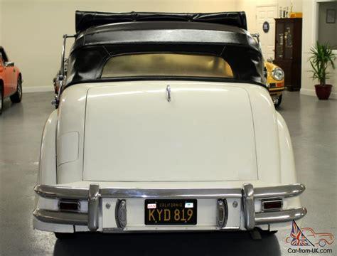 jaguar mk5 for sale jaguar other mk5 drophead coupe
