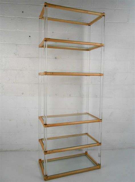 zoom image cantileve etagere with 2 doors midcentury modern metal wood bookcases mid century modern etagere mid century modern