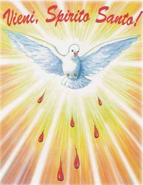 spirito consolatore 27 misteri gloriosi dello spirito santo