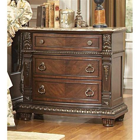 marble top dresser bedroom set pictures ashb also stunning antique homelegance palace night stand