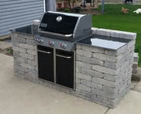 backyard grill bbq barbeque grill enclosure projects to try pinterest