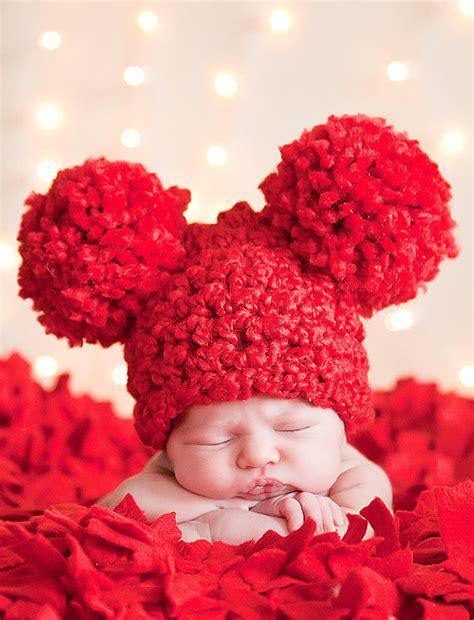 newborn valentines day s baby hat preemie or newborn baby by