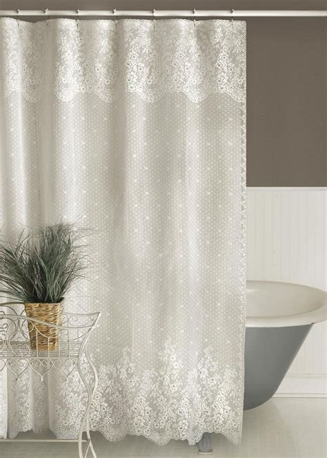 Curtains As Shower Curtains by Best 25 Lace Shower Curtains Ideas On Rustic