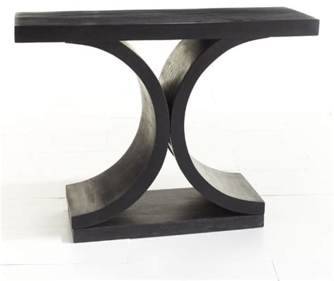 contemporary sofa table black contemporary black sofa table the interior design