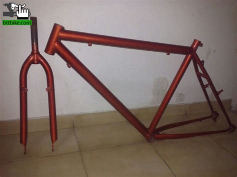 vendo cuadro mtb cuadro mtb r26 de acero usada bicicleta en venta btt