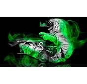 Green Fire Tiger