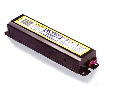 What Is A Ballast In A Fluorescent Light Fixture Advance Fluorescent Ballast 2 L 48 Quot T8 Instant Start 120v The Home Depot Canada