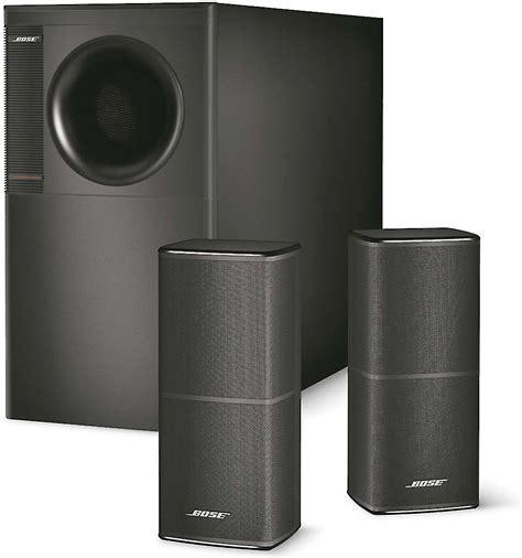 Speaker Bose bose 174 acoustimass 174 5 series v speaker system black at