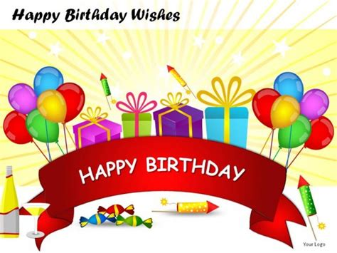 Happy Birthday Wishes Powerpoint Presentation Slides Birthday Ppt