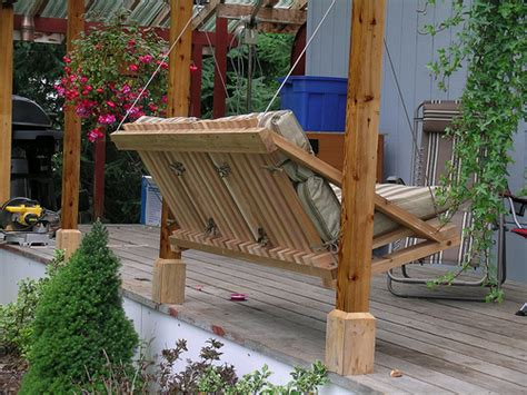how to make a porch swing how to build a porch swing ryan mcfarland s blog