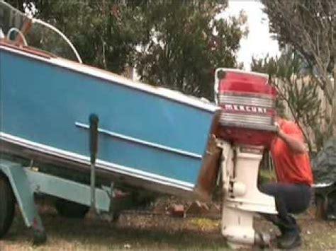 boat outboard motor lift outboard motor lift youtube