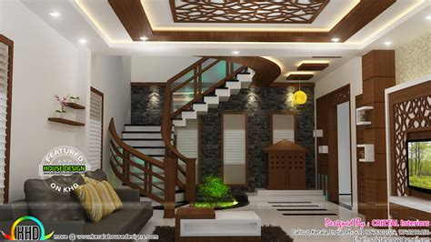 kerala home design kozhikode bedroom dining hall and living interior kerala home